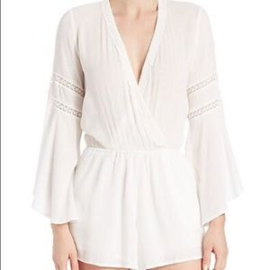 l*space Swim - L*Space Women's Love-struck Romper Cover-up Large